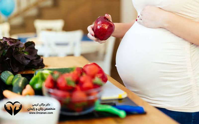 تغذیه زنان باردار چگونه باید باشد ؟