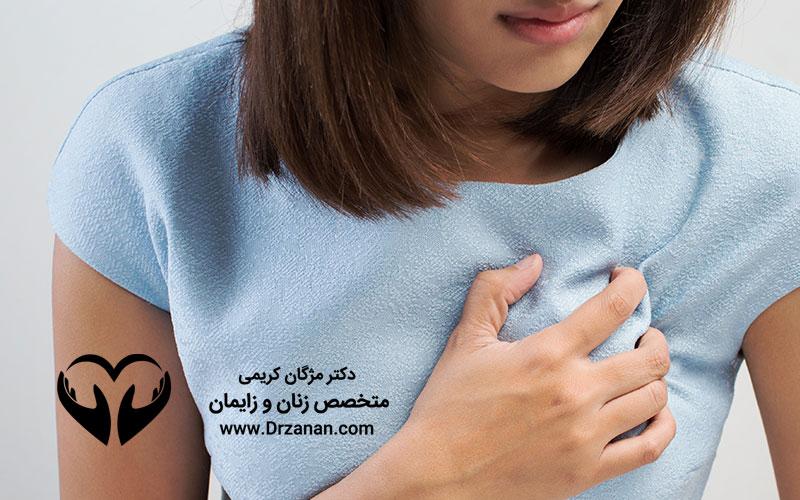 دلایل التهاب پستان یا ماستیت در زنان چیست ؟