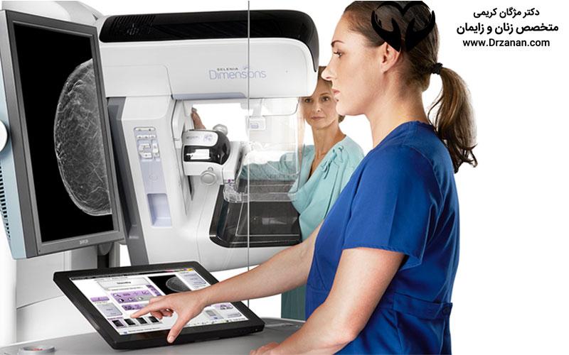 درباره ماموگرافی یکی از مهمترین و موثرترین راه های تشخیص سرطان سینه